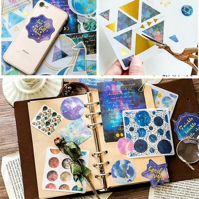 Decoration Scrapbooking Galaxy Stickers Diary Label Paper Sticker Phone Decor