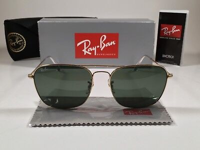 fef3195cb4 NEW RAY BAN RB3136 167 2K Bronze Copper Frame Red Mirror 58mm Lens ...