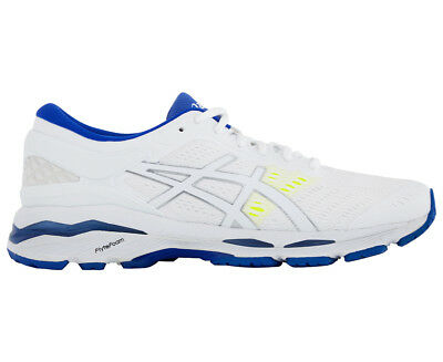 Asics Womens Gel- Kayano 24 Shoe - White/blue Purple/safety Yellow -Women Us 8