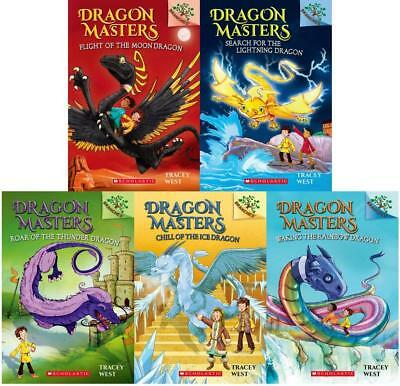 DRAGON MASTERS Kids Fantasy Series by Tracey West PAPERBACK Set Books 6-10