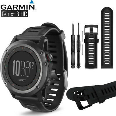 For Garmin Fenix 3 / Fenix 3 HR Replacement Wrist Band Silicone Watch Band Strap