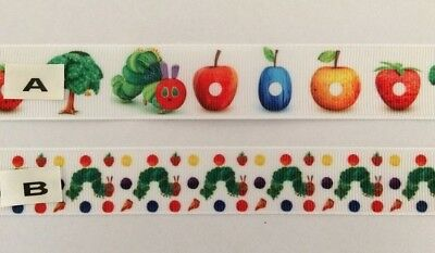 The very Hungry Caterpillar Grosgrain Ribbon both designs sold by 2M - Craft