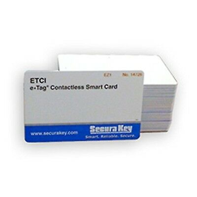 Securakey's ISO Cards Encrypted 26Bit ETCI-04-1-25 Wiegand For WXM & WXS Card...