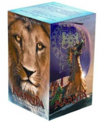 The Chronicles of Narnia Movie Tie In Editions BOXED SET Paperbacks 1-7 CS Lewis
