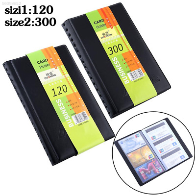 D818 120/300pcs Business Name ID Bank Card Holder Book Wallet Case Cover Organis