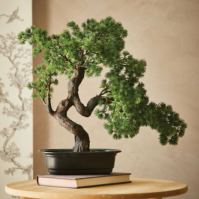 REFURBISHED Artificial Potted Bonsai Tree
