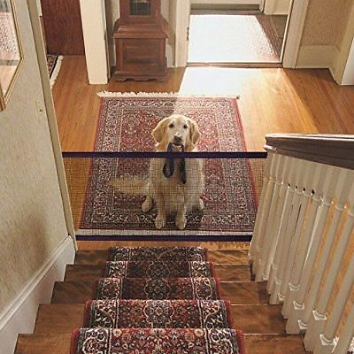 Mesh Magic Pet Dog Gate Safe Guard And Install Anywhere Pet Safety Enclosure