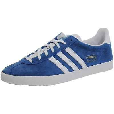 brand new fbcb0 7aa6c Adidas Gazelle OG blue white men s Low-Top retro lifestyle sneakers  trainers NEW