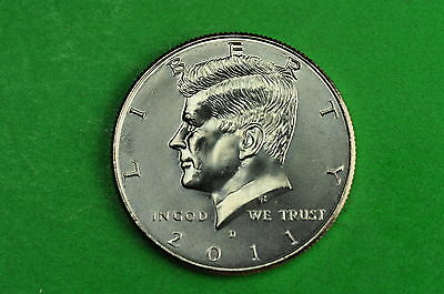 2011-D BU Mint State Kennedy US Half Dollar Coin