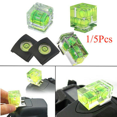 1/2/3-Axis 3D Hot Shoe Bubble Spirit Level Protector Cap For DSLR Camera Cover..