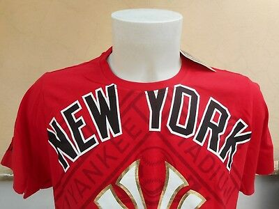 Maglia Baseball Mbl New York Yankees Majestic Cooperstown Xl Shirt Jersey 0005