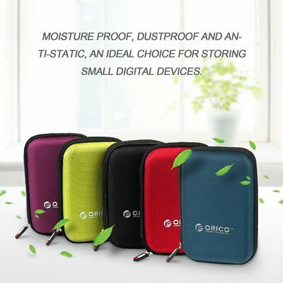 """ORICO PHD-25 2.5"""" HDD Protective Bag Shockproof Digital Device Storage Case MMz"""