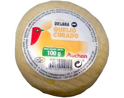 1 Whole Ball Portuguese Cured Cow CHEESE / The Best Price on Ebay /Free Shipping