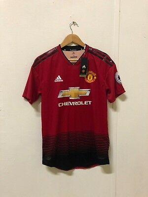 adidas ClimaChill Mens Manchester United 18/19 Home Shirt - M - Rashford 10 -New