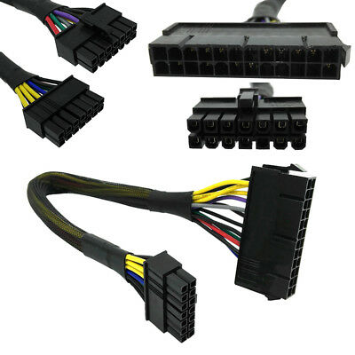 24 Pin to 14 Pin PSU Main Power Supply ATX Adapter Cable for Lenovo IBM Dell CDD