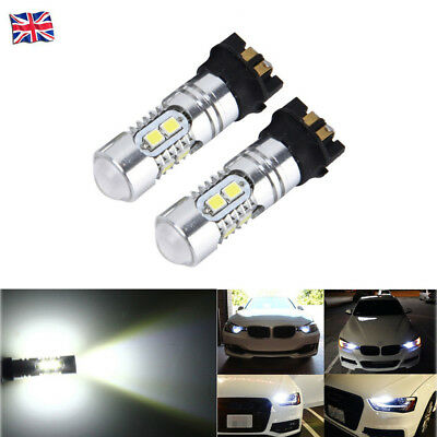 PW24W 10 LED Bulbs DRL Daytime Running Light Canbus For BMW 3 Series F30 F31