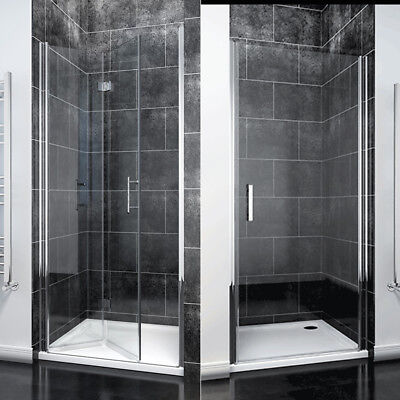 Frameless Pivot/Bifold Shower Enclosure Door Walk In 6mm Glass Cubicle Door