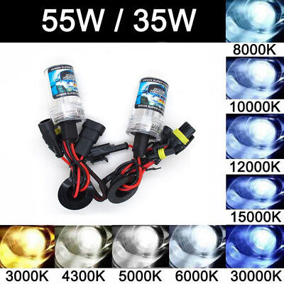 2X 35W/55W H1 H3 H7 H11 9005 9006 880 881 Xenon HID Replacement Bulb Headlight
