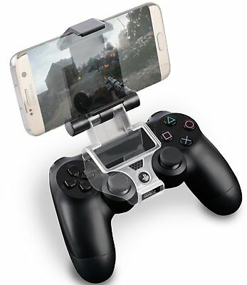 Smart Clip Holder for PlayStation 4 PS4 DualShock Controller for Android Devices