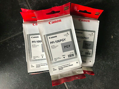 Cartouches traceur Canon IPF6400S - PFI-106PGY