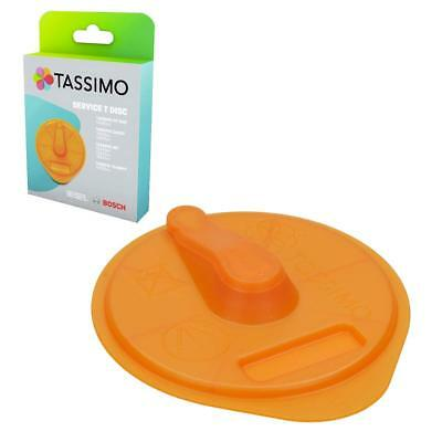 GENUINE Bosch Tassimo Orange Cleaning Service T Disc 17001491 Old Part No 576837
