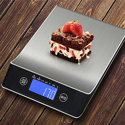 5/10/15kg Por Electronic Kitchen Accurate LCD Weight Food Digital Scale US Beamy
