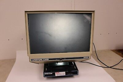 Eyecom 6000 Microfiche Reader - WORKS