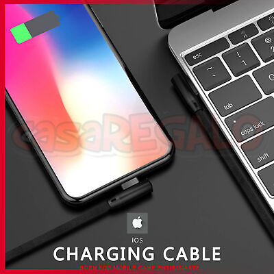 USB Cable Charger for Apple iPhone X Xr Xs Max 8 7 6 plus iPad Pro Nylon Cord