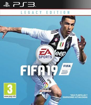 Fifa 19, Ps3 (Playstation 3), Castellano, Store España (No Disco)