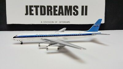 1/400 Ati Air Transport International Dc-8-62F 1980's Colors N31Cx Aeroclassics