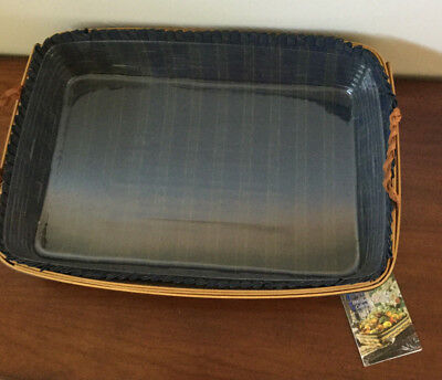 Longaberger Collector's Club 1999 Serving Tray Combo