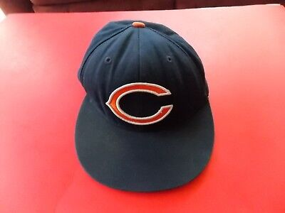 MITCHELL   NESS Vintage NFL Chicago Bears Football Fitted cap Size 7 ... 10b47e6d7