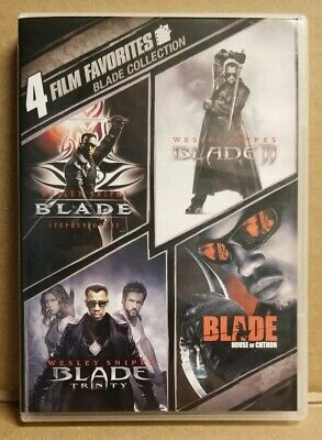 Blade Collection 4 Film Favorites Featuring Wesley Snipes