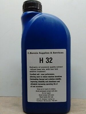 Nuto H32 Oil For Lathes -  Oil With Freepost Choice Of Sizes Ml7 Super 7