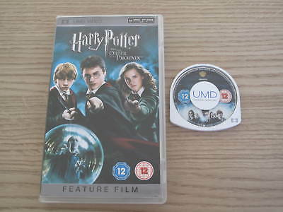 Harry Potter And The Order of the Phoenix - UMD Movie for the Sony PSP
