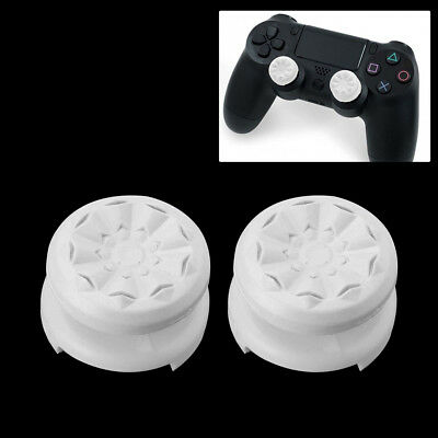 2Pcs Thumbstick Grip Joystick Cap Cover Extender for Sony PS4 Game Controller US