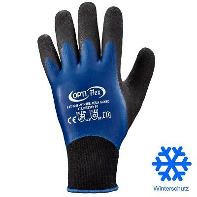 Work Gloves Waterproof Thermo Latex Winter Gloves Lined Glove