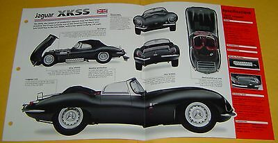 1957 Jaguar XKSS built to race 6 Cyl 3442cc 3 Weber Carbs IMP info/Specs/photo