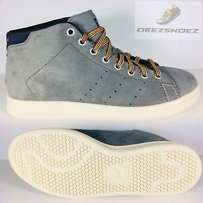 15a73c79ff0 Adidas Stan Smith Lab 84 Leather Rare Grey white Mens  M25779 US Size 7