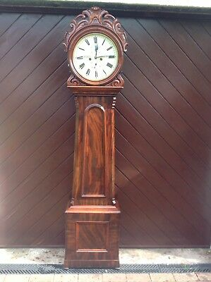 19th Centurary Scottish Drumheadhead Longcase Clock
