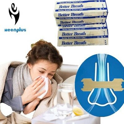 Better Breath Nasal Strips - Snoring, Blocked nose, Athlete congestion assist