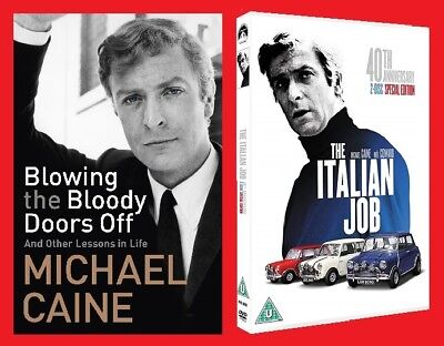 The Italian Job Double Pack 40th Anniversary DVD & Blowing The Bloody Doors Off