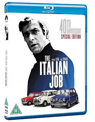 The Italian Job 40th Anniversary Blu-ray Michael Caine Brand New 5051368207636