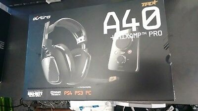 BNIB Astro Gaming A40 TR Headset + MixAmp Pro TR for PS4 ($249.99 Retail)