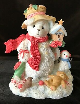 Cherished Teddies Merry #706906 - In the Meadow We Can Build A Snowman