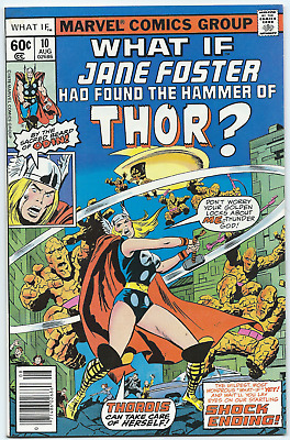 What If... #10 VF OW/W Jane Foster Hammer Of Thor Bronze Age KEY