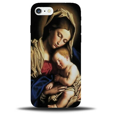 Mary and Jesus Phone Case Cover Mother Religious Catholic Christian C715