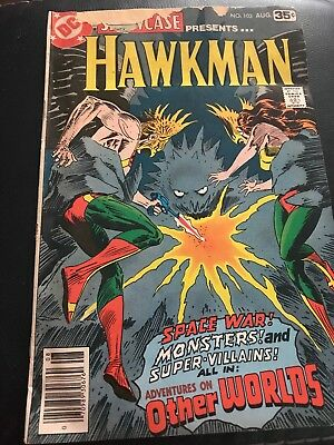 Showcase #103 NM- 9.2 white pages  Hawkman  DC  1978  No Reserve