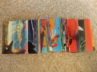 ⭐RARE⭐ Disney's LION KING Series 2 Card Set 90 Cards issued by Skybox USA ⭐⭐