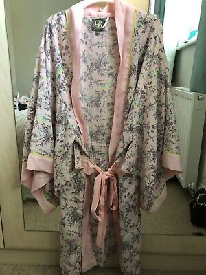 B By Ted Baker Dressing Gown Size 16 18 1700 Picclick Uk